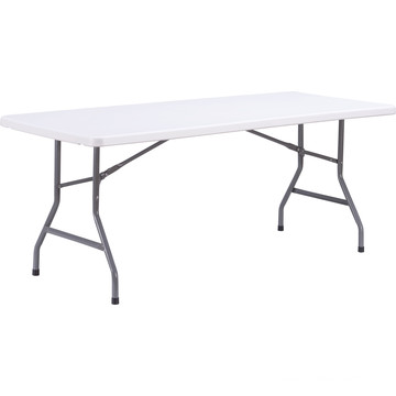 6FT Fold in Half Picnic Dining Camping Folding Table Plastic Folding Table